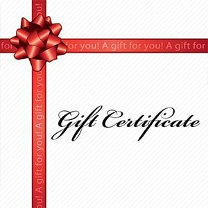 Gift Certificate - 6 x 30 minute music lessons for the price of 5