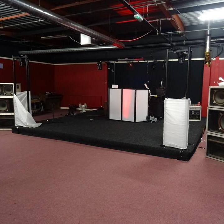 Our old stage was basic and functional, but is now state of the art with professional overhead gantry lighting and a full PA sound system. We have also incorporated TV studio filming capabilites and high level streaming facilities.